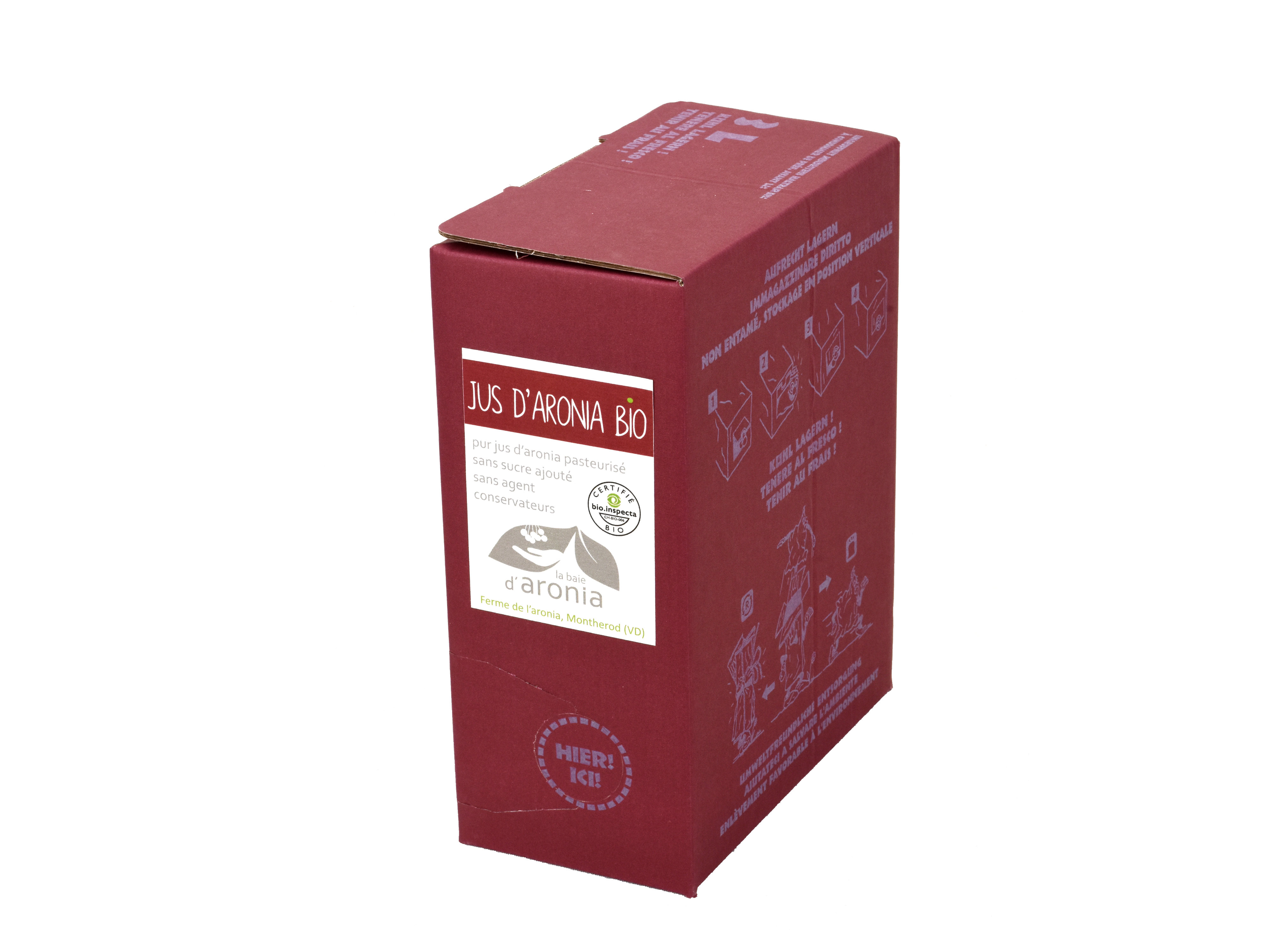 Jus d'aronia, 3 litres