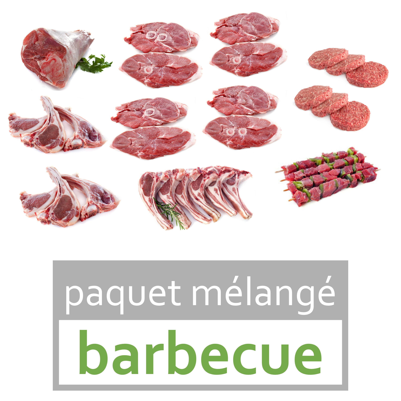 "viande d'agneau bio ""barbecue"""