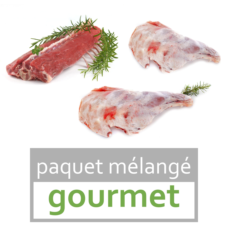 "viande d'agneau bio ""gourmet"""