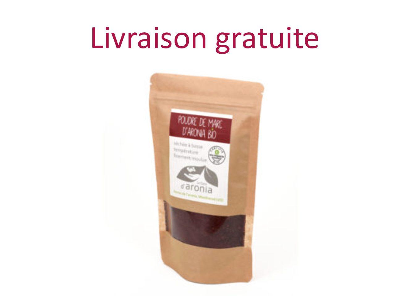Poudre de marc d'aronia,  150 g