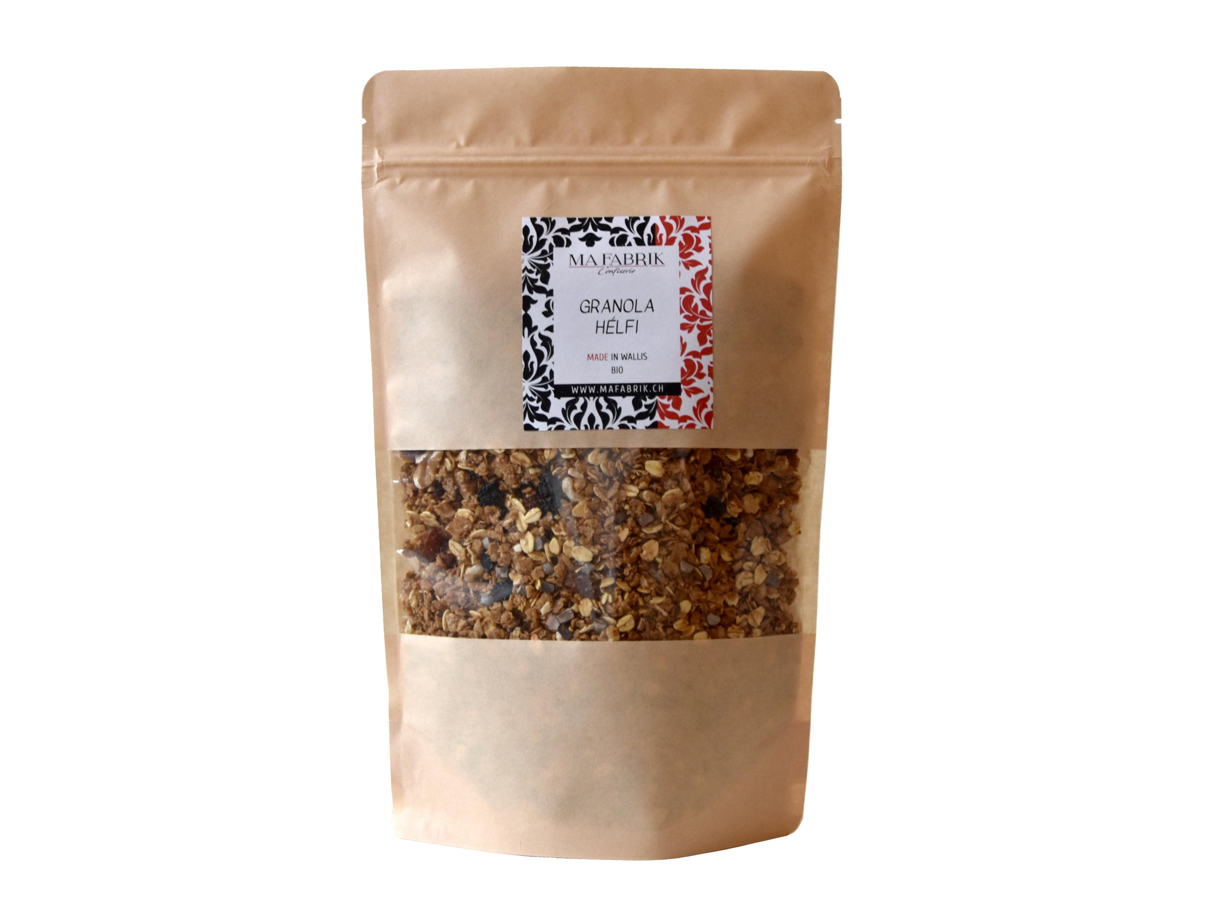 nouveau : Granola aux baies d'aronia